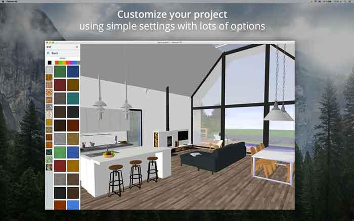 Planner 5d app per progettare casa e interni gratis for Progettare casa 3d