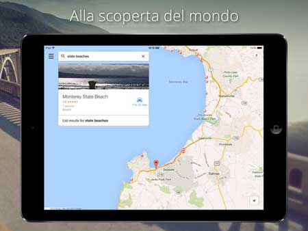 how to use google street view ipad