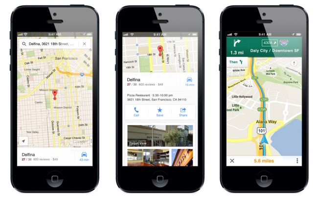 google-maps-per-iphone
