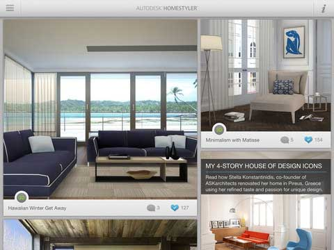 gallery of arredare casa software autodesk homestyler app