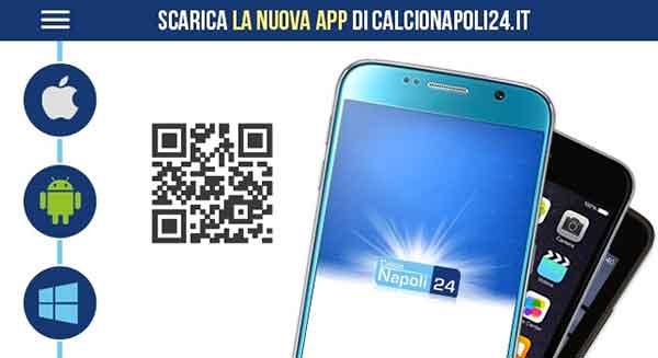 App Squadre Calcio Per Iphone Tuttonapoli Calcionapoli24 Apple App