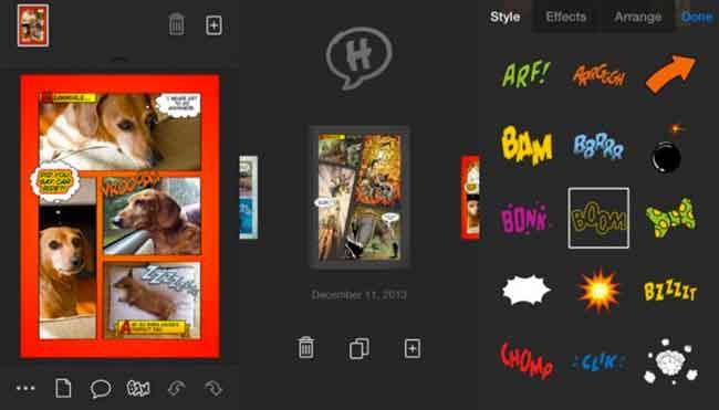 Halftone E Tooncamera App Per Creare Vignette E Fumetti Da