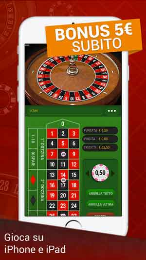 Sisal Casino iphone