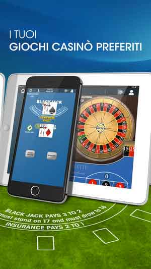 William Hill Giochi di Casino iphone