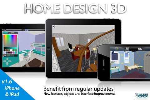 Home design 3d app per arredare casa apple app for Arredare 3d