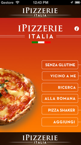 ipizzerie per iphone